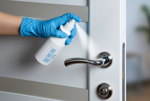 Where To Apply Self Disinfectant Coating?